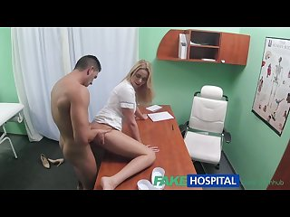 Fakehospital nurse eases pressure in studs balls