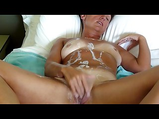 Dirty talking wife fantasy fucked by strippers