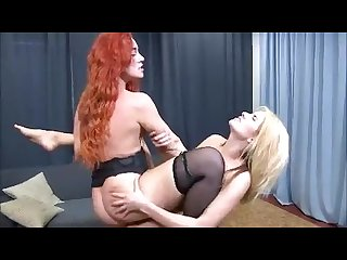 Tribf redhead vs blonde