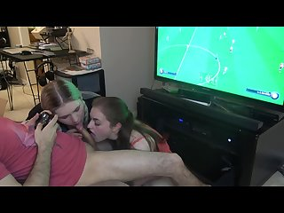 Blowjob sandwich fifa spanish