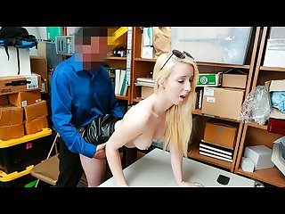 Shoplyfter rich and bratty celebrity darcie belle fucked and detained