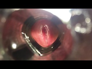 ARAB COCK FUCK FLESHLIGHT AND CUM (INSIDE VIEW)