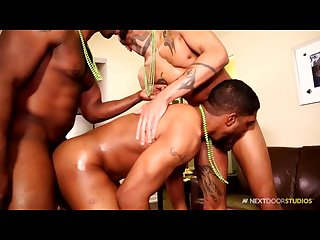 Next door ebony saint patrick S threesome