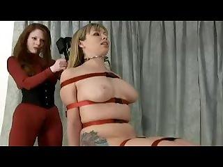 Adrianna nicole bondage chair fuck machine