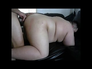 Chub bitch get fucked by my huge big cock in his ass doggy