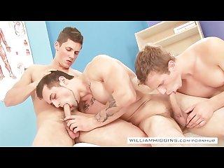 Basement orgy