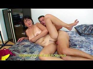 Gina the voracious mature of big cock