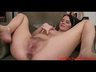 Young pregnant woman with hairy pussy anal laptor production