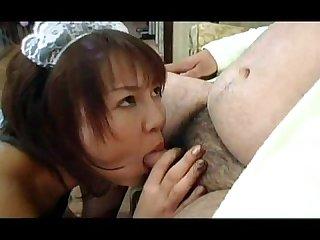 Japanese chub fuck maid