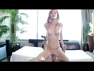 Tiny4k redhead alex tanner with perky tits plays with a sex toy
