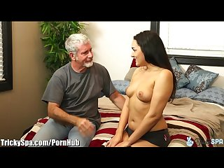 Jenna caught with step bro then fucks step dad