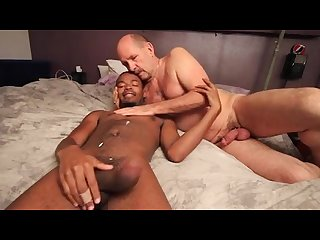 Daddy fucks black boy