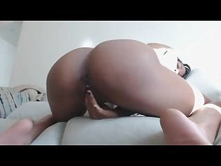 Ass and pussy in your face orgasm