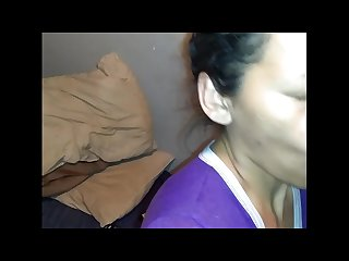 Mexican lizzy sucking black dick and deepthroat