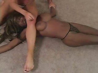 Christine vs shay fox interracial Catfight