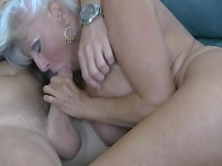 Gilf sally footjob w cim