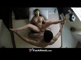 Sexy cheater milf enjoys horny hotel hookup fuck