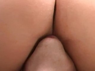Blonde milf got horny and had her way with his cock