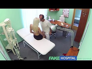 Fakehospital wet and wild blondes tight pussy convinces doctor