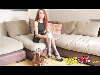 Fakeagentuk agent has intense bondage session with milf in pov casting