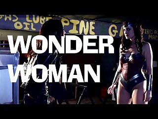 Trailer wonder woman Xxx starring Kimberly kane