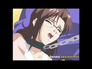 Hentai naughty teacher loves jerking off students