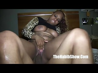 Thick thot goddess fucked by redzilla bbc lover P2