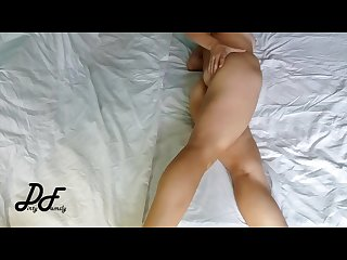 Crossed legs masturbation real female hands free orgasm dirtyfamily
