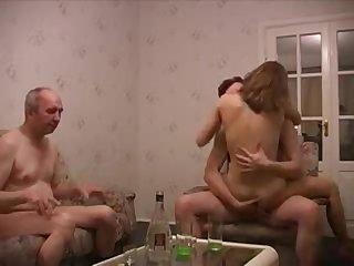 Homemade Family orgy