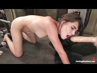 Sasha grey gets machine plowed