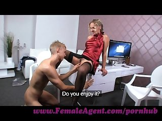Femaleagent athletic young stud can go the distance