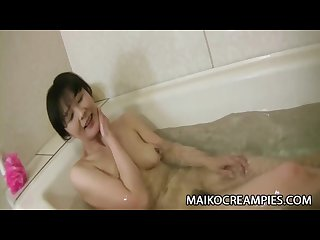 Satoko aragaki sweet jav mature fucked and creampied