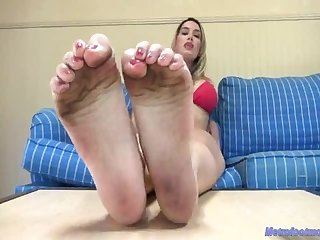 Megan jones dirty feet