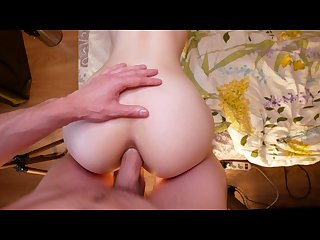 Rough assfuck for young anal addicted student