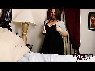 Big tits milf halloween handjob