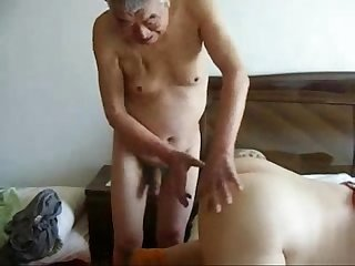 Granny cuckold amateur home made