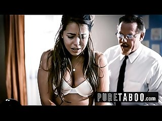 Dirty bishop forgives 18yr old Alina Lopez for her sins