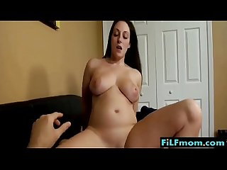 Horny stepmom seduces son and fucks him free mom Xxx videos at filfmom com
