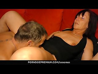 XXX OMAS � Horny granny cum covered in hardcore fuck