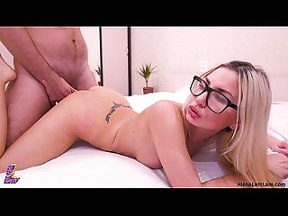 Sexy milf doggystyle and huge cumshot 4k ultra hd alena lamlam