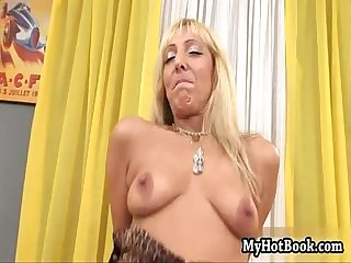 Kristina Dark is a tall blonde pornstar who has a