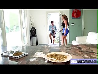 (Richelle Ryan) Housewife With Big Juggs Love Intercorse On Camera Clip-22