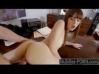 NubilesPorn - Tiny Tit Slut Gets Pussy Fucked Raw