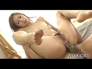 Entrancing japanese gang bang