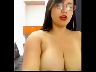 Bangladeshi dhaka girl Anamika big boobs webcam chat leacked-1