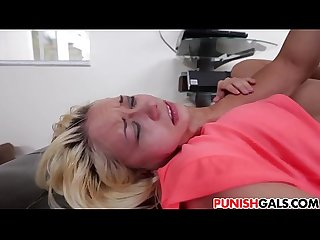Marsha May learns to obey