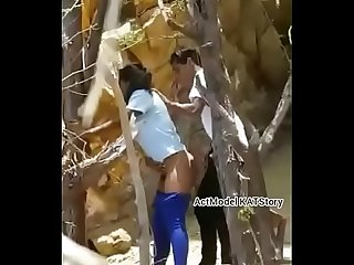 desi north indian college couple sex inside forest hiden camara