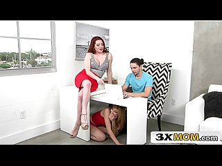 Gorgeous Stepmom Offers Young Couple a Sex Lesson - Lolo Punzel, Veronica Vain