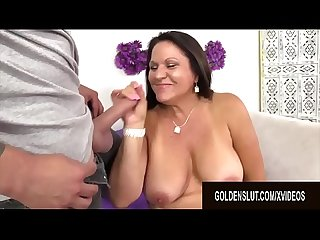 Golden Slut - Older Ladies Show off Their Cock Sucking Skills Compilation 12