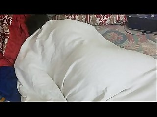 SLEEPING STEPMOM GETS AWAKEN TO A CREAMPIE